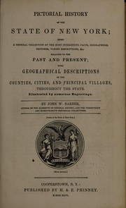 Cover of: Pictorial history of the State of New York