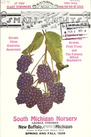Cover of: Small fruits | South Michigan Nursery