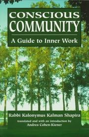Cover of: Conscious community