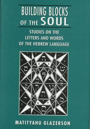 Cover of: Building blocks of the soul