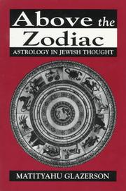 Cover of: Above the Zodiac