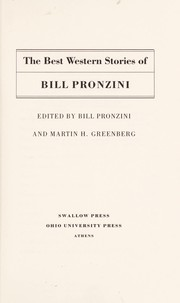 Cover of: The best western stories of Bill Pronzini