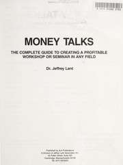 Cover of: Money talks