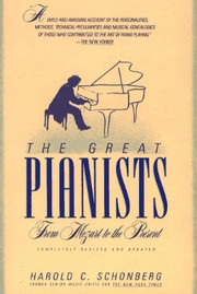 Cover of: The great pianists