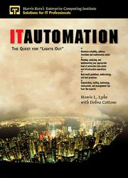 Cover of: IT automation | Howie Lyke
