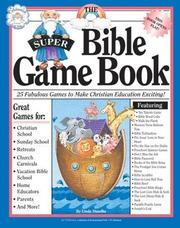 Cover of: The super Bible game book