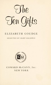 Cover of: The ten gifts