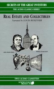Cover of: Real Estate and Collectibles (Secrets of the Great Investors) | Austin Lynas