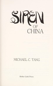 Cover of: Siren Of China