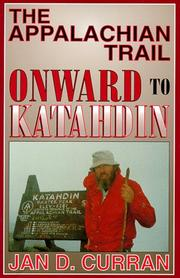 Cover of: The Appalachian Trail--onward to Katahdin