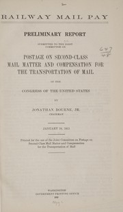 Cover of: Railway mail pay