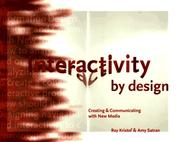 Cover of: Interactivity by design