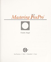 Cover of: Mastering FoxPro