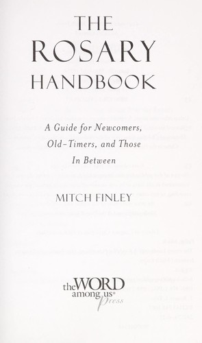 The Rosary handbook by Mitch Finley