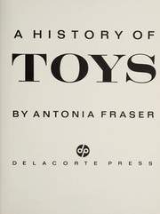 Cover of: A history of toys