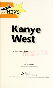 Cover of: Kanye West | Barbara Sheen