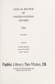 Cover of: 1991