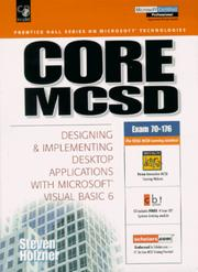 Cover of: Core MCSD | Steven Holzner