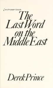 Cover of: The last word on the Middle East