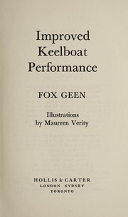 Cover of: Improved Keelboat Performance