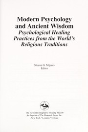 Cover of: Modern psychology and ancient wisdom