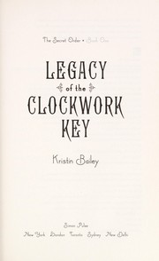 Cover of: The clockwork key