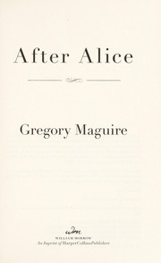 Cover of: After Alice