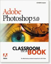 Cover of: Adobe Photoshop 5.0 Classroom in a Book | Adobe Systems Inc.