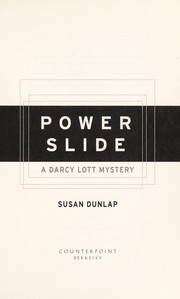 Cover of: Power slide: a Darcy Lott mystery