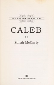 Cover of: Caleb: The Shadow Wranglers