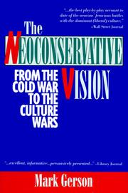 Cover of: The Neoconservative Vision