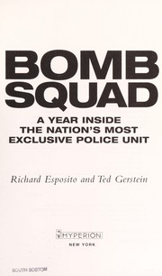 Cover of: Bomb Squad