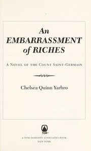 Cover of: An embarrassment of riches