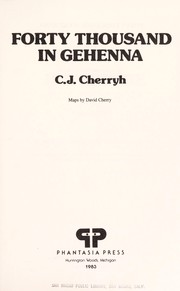 Cover of: Forty Thousand in Gehenna