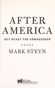 Cover of: After America | Mark Steyn