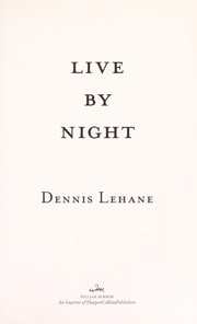Cover of: Live by night