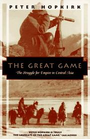 Cover of: The Great Game | Peter Hopkirk