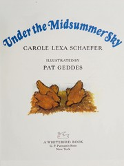 Cover of: Under the midsummer sky