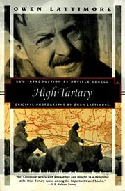 Cover of: High Tartary