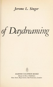 Cover of: Inner World of Daydreaming