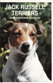 Cover of: Jack Russell terriers. | Anna Katherine Nicholas