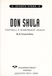 Cover of: Don Shula