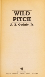 Cover of: Wild Pitch