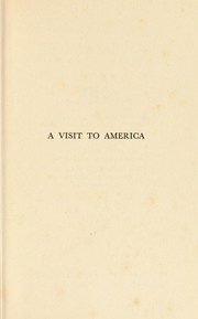 Cover of: A visit to America | Macdonell, A. G.
