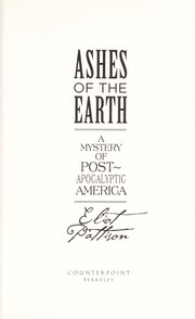 Cover of: Ashes of the earth