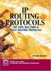 Cover of: IP Routing Protocols | Uyless N Black