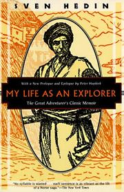 Cover of: My life as an explorer