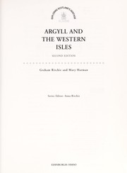 Cover of: Argyll and the Western Isles | Graham Ritchie