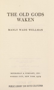 Cover of: The old gods waken