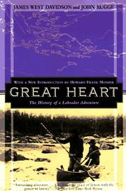 Cover of: Great heart | James West Davidson